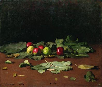 apples-leaves